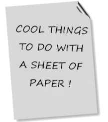 cool stuff to make with paper How to make cool stuff out of paper : the amount of cool stuff you can making using regular old paper make cool stuff out of paper with help from a.